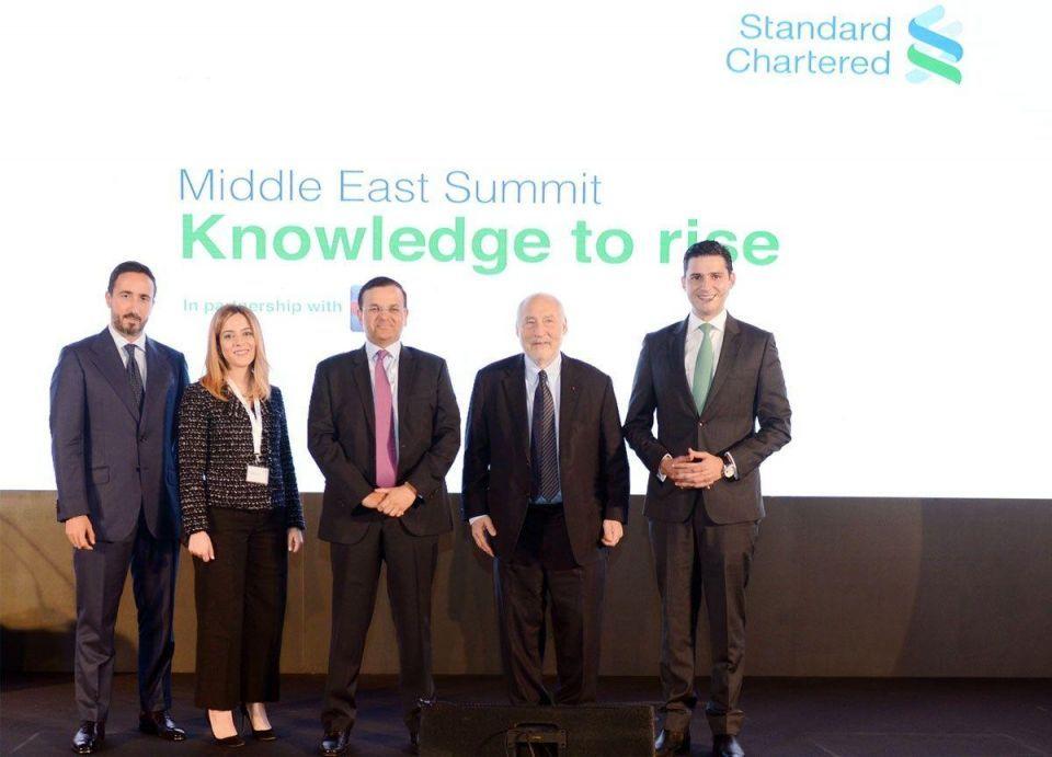 بنك ستاندرد تشارترد يعقد قمة الشرق الأوسط لعملائه في الإمارات