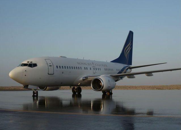 """""""رويال جت"""" للطيران الخاص توقف رحلاتها إلى قطر"""