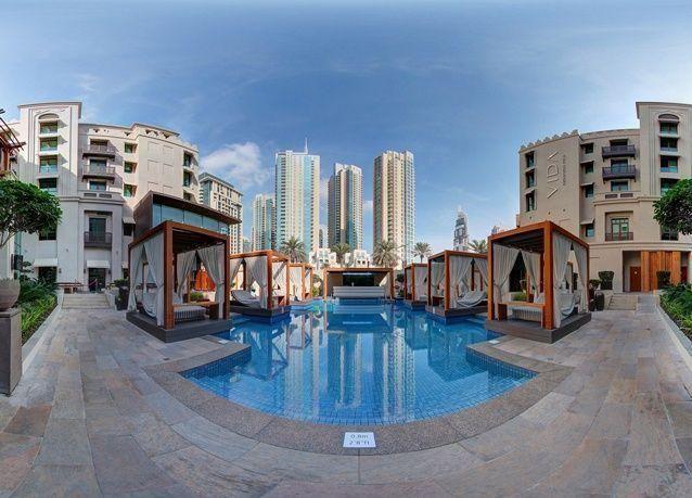 """""""إعمار"""" تطلق الجولات الافتراضية البانورامية لفنادقها في دبي"""