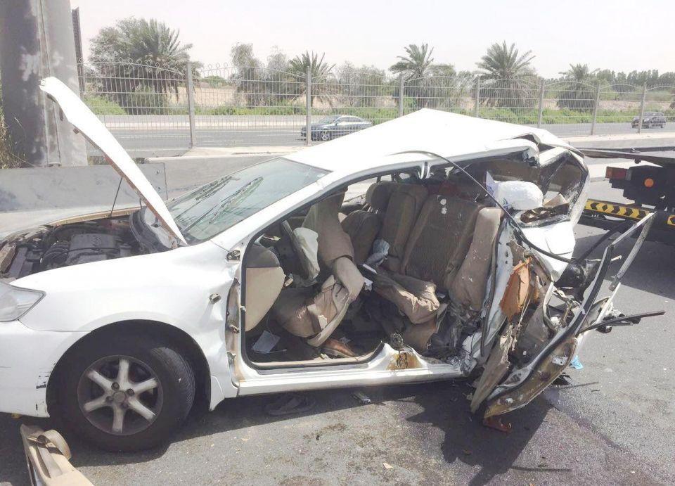 دبي: وفاة شخصين وإصابة 6 في حوادث خلال الأيام الثلاثة الماضية