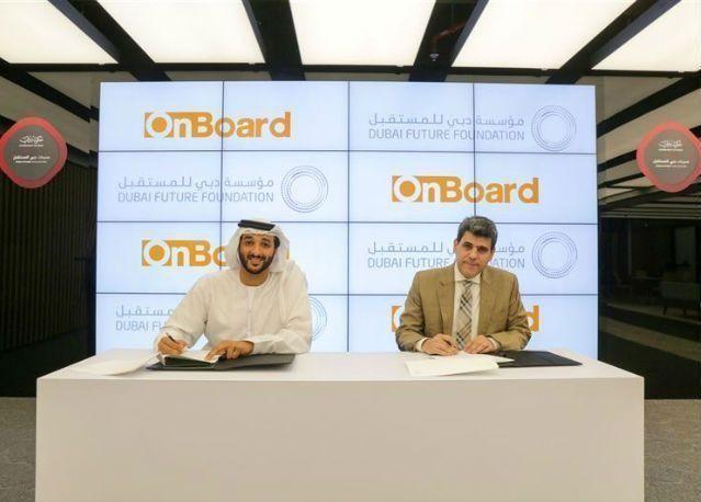 """توفير منصات """"دبي للمستقبل"""" على متن خطوط الطيران العالمية"""