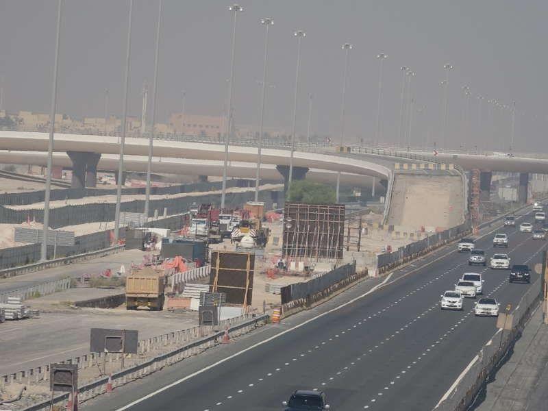 """""""مساندة"""" تنجز 68 % من أعمال تقاطع مطار أبوظبي"""