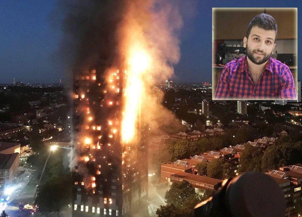 لاجئ سوري أول ضحية مؤكدة في حريق برج لندن
