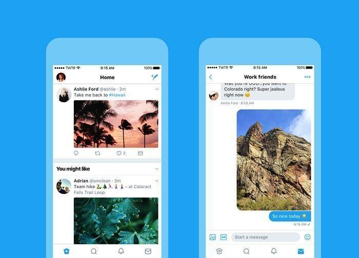 تويتر تطلق تصميماً جديداً