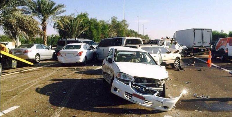 تسجيل 1346 حادثا مروريا  في دبي خلال عطلة عيد الفطر ووفاة 5 أشخاص في أبو ظبي
