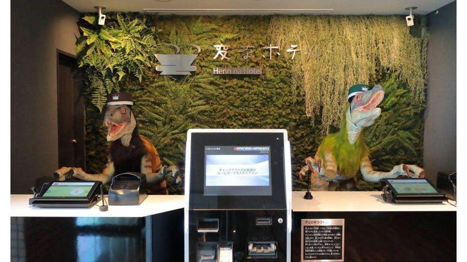 شاهد: فندق ياباني يعتمد على الروبوتات لخدمة نزلاءه