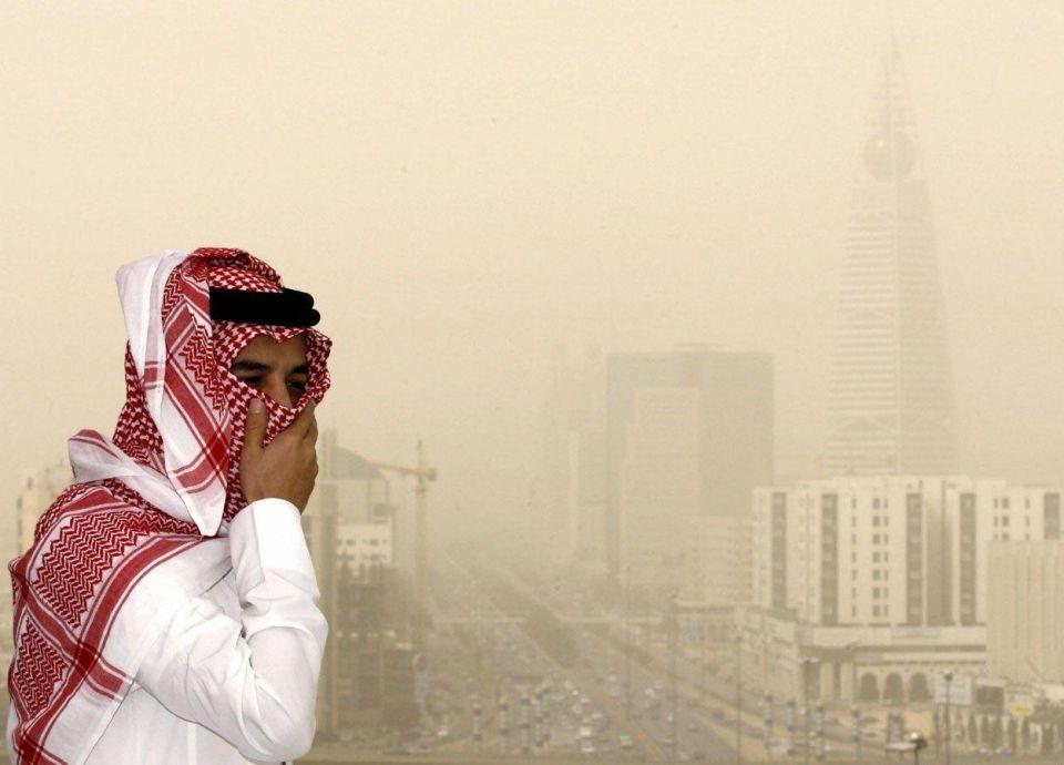 """""""تنبيه متقدم"""".. الرياض على موعد مع غبار وشبه انعدام للرؤية"""