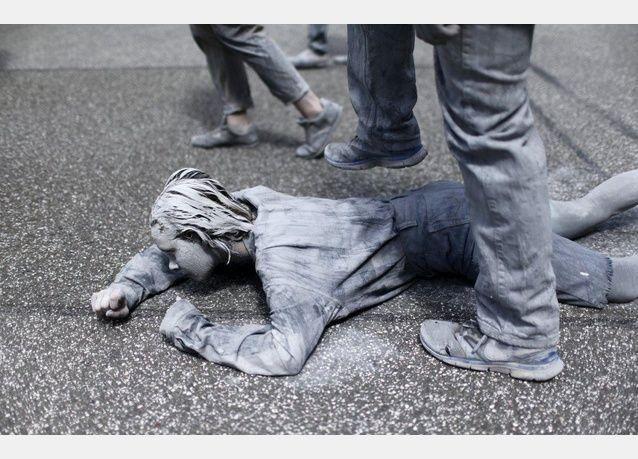"""صور احتجاجات """"الزومبي"""" في ألمانيا"""