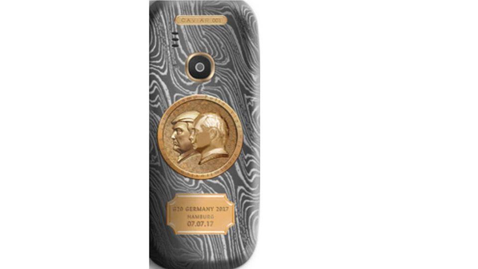"""إطلاق هاتف نوكيا """"3310"""" من الذهب .. احتفالاً باللقاء التاريخي بين ترامب وبوتين"""
