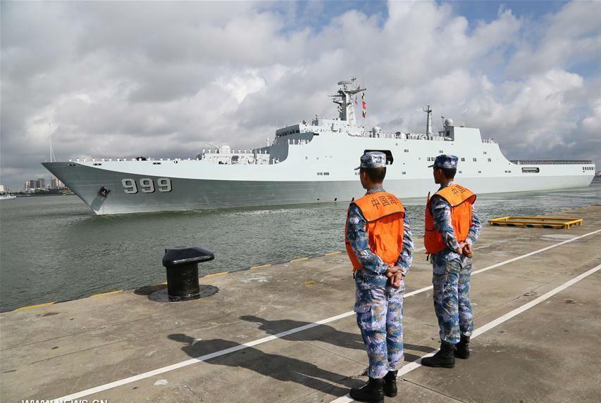 أول قاعدة عسكرية للصين في بلد عربي
