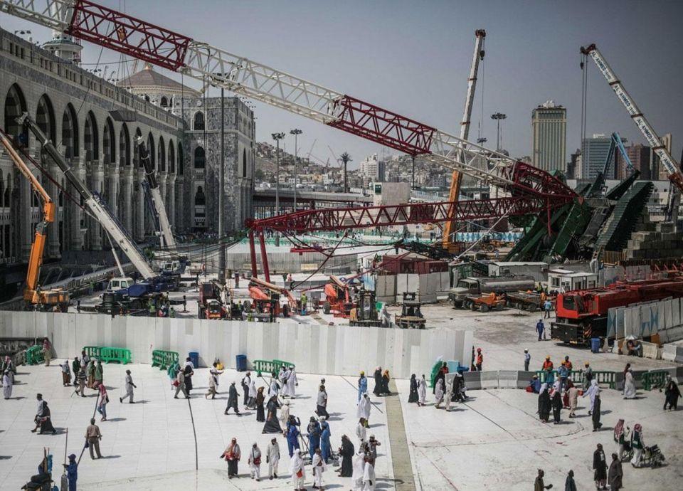 السعودية: مهلة المتهمين بقضية رافعة الحرم للرد على التهم