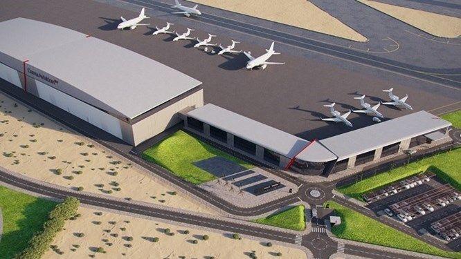 مطار الشارقة الدولي يوقع اتفاقيتين لتشغيل مبنى جديد للطيران الخاص