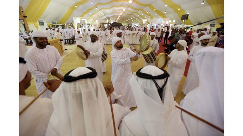 انطلاق فعاليات الدورة الثالثة عشرة من مهرجان ليوا للرطب