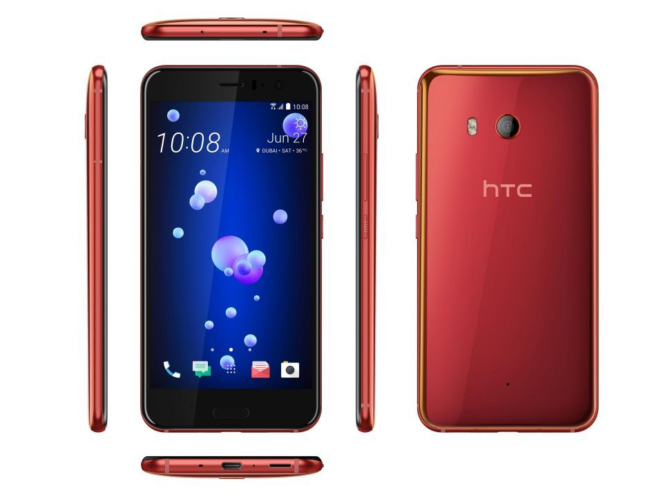 جديد التقنية: طرح هاتف HTC U11 باللون الأحمر الشمسي في الإمارات