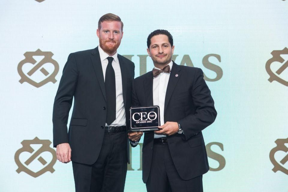 بالصور: الفائزين بجوائز مجلة CEO الشرق الأوسط 2017