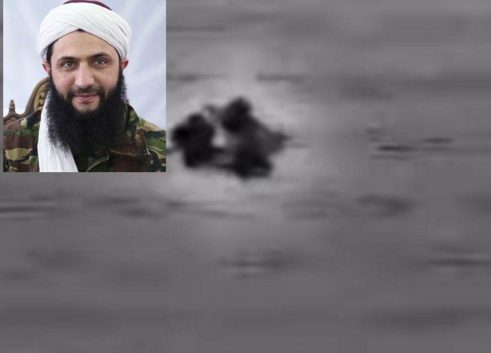 """فيديو ضربة جوية روسية ضد قادة """"النصرة"""" في سوريا"""