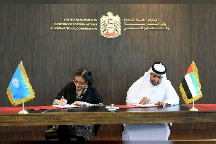 """الإمارات تعلن تخصيص مليوني دولار لأنشطة """"يونيسيف"""" في اليمن"""