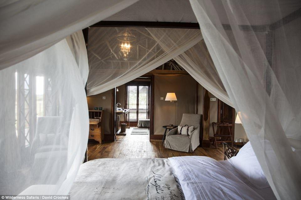 شاهد أغرب فندق 5 نجوم في سفاري افريقيا.