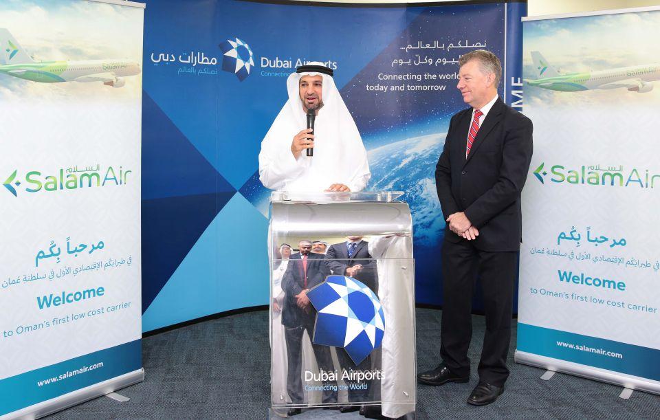 طيران السلام يُسيّر رحلاته إلى مطار دبي الدولي