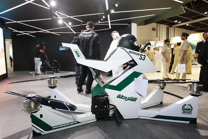 شرطة دبي تعرض أحدث ابتكاراتها في معرض جيتكس
