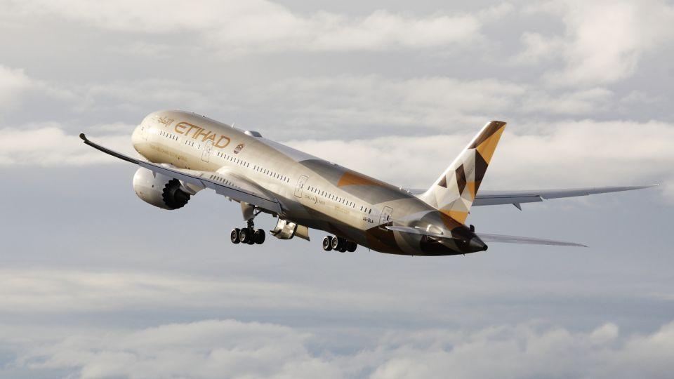 رحلة لطيران الاتحاد من أبو ظبي إلى نيويورك تعلن حالة طوارئ
