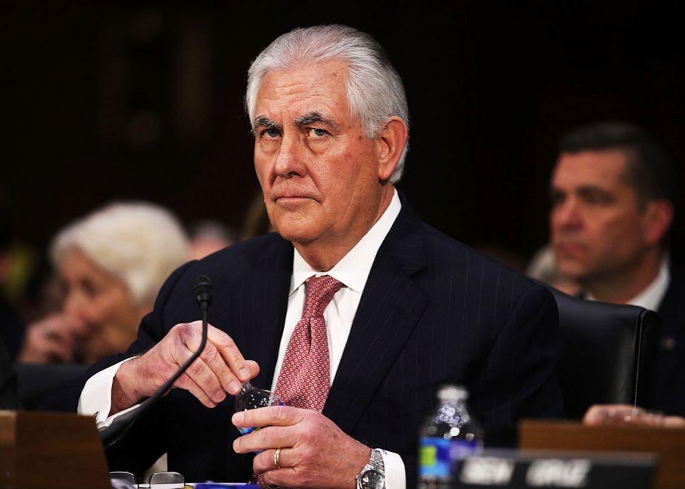 وزير خارجية أمريكا ينفي تعرضه للإخصاء من قبل ترامب