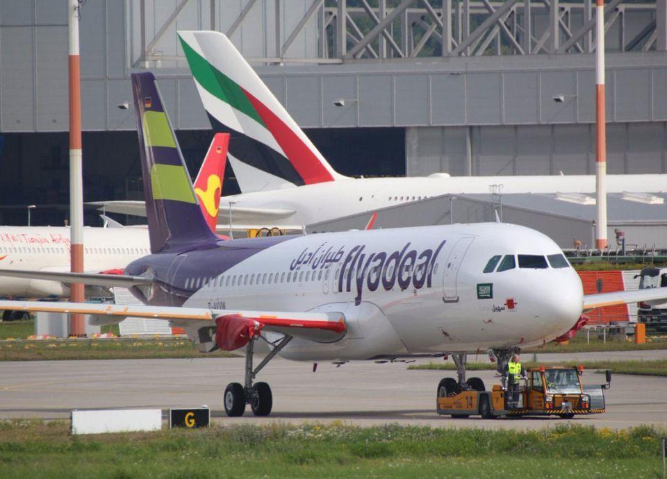 طيران أديل تزيد رحلاتها بين جدة والرياض