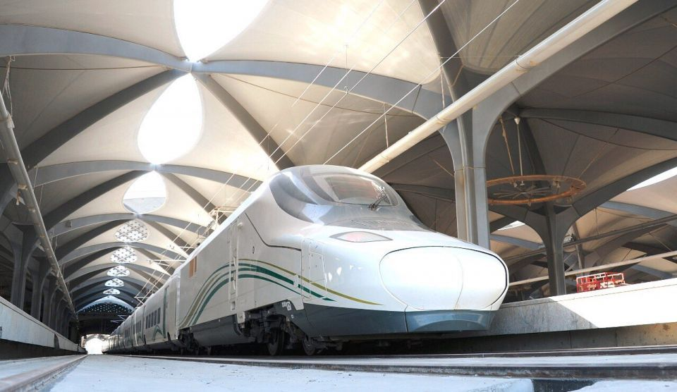بسرعة 300 كلم في الساعة، رحلة تجريبية لقطار الحرمين من جدة إلى  مكة المكرمة