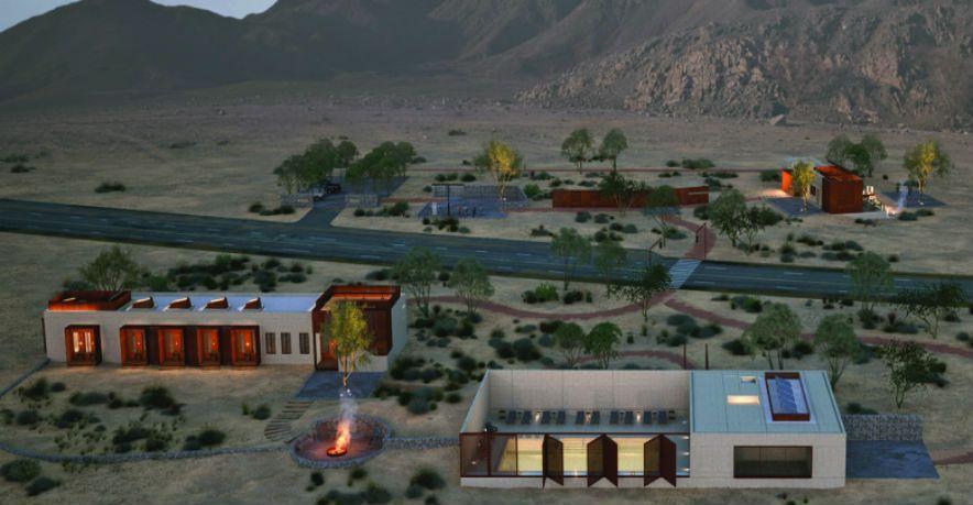 شروق تدشن نزل صخرة الأحفور للضيافة في صحراء الشارقة