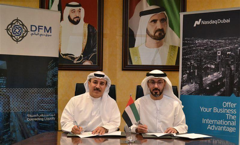 دبي المالي وناسداك دبي يتفقان على إطلاق عقود آجلة مرتبطة بالسوق