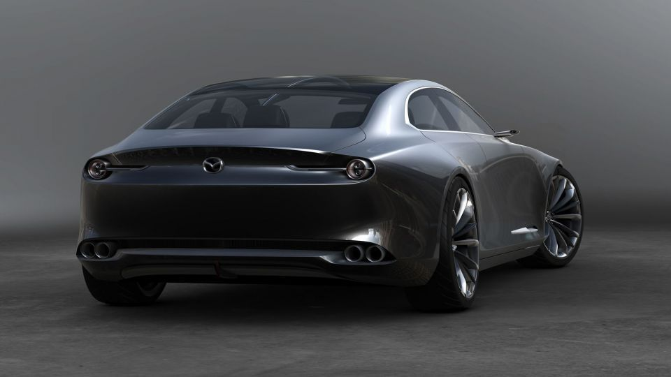 شاهد الكشف عن سيارة مازدا  سيدان ذات التصميم الهائل اليوم في معرض طوكيو