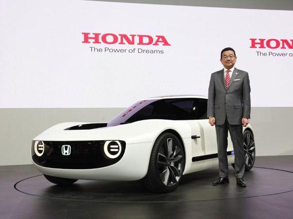 شاهد تصميم سيارة هوندا الجديد