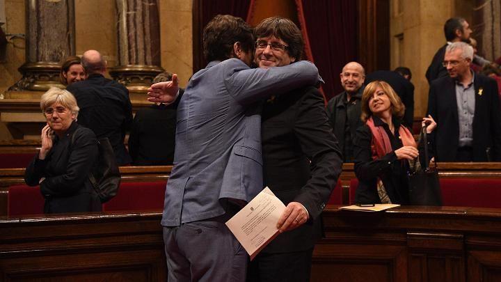 كاتالونيا تحتفل بإعلان الإستقلال