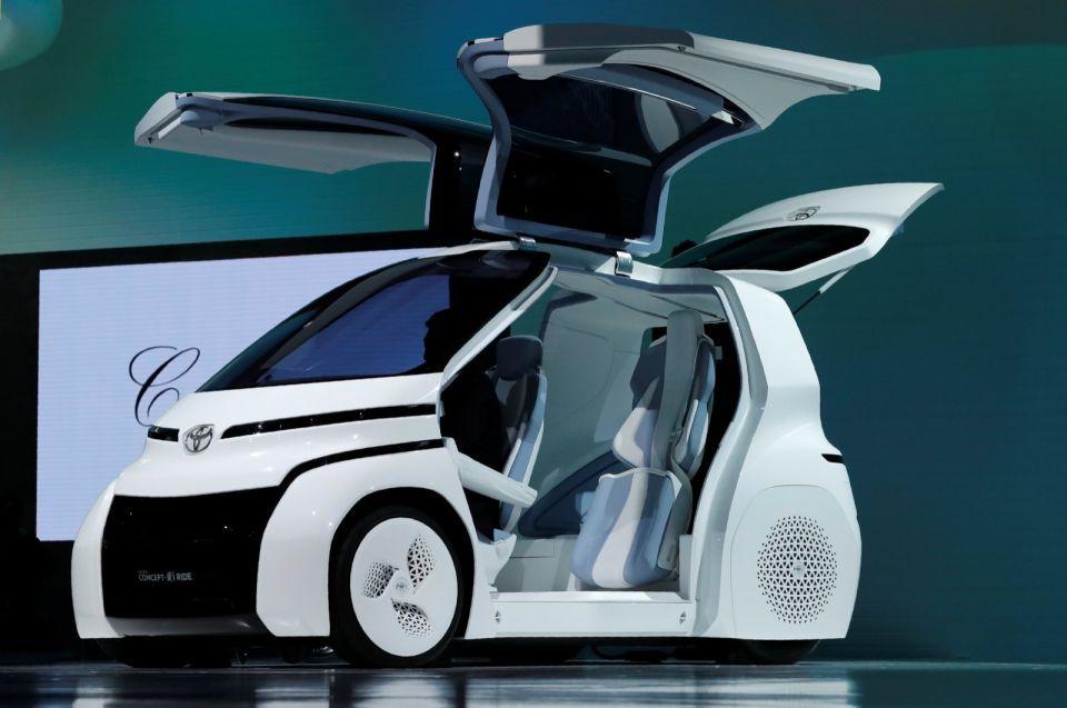 شاهد سيارت المستقبل وحلول النقل الذكية  في معرض طوكيو الدولي