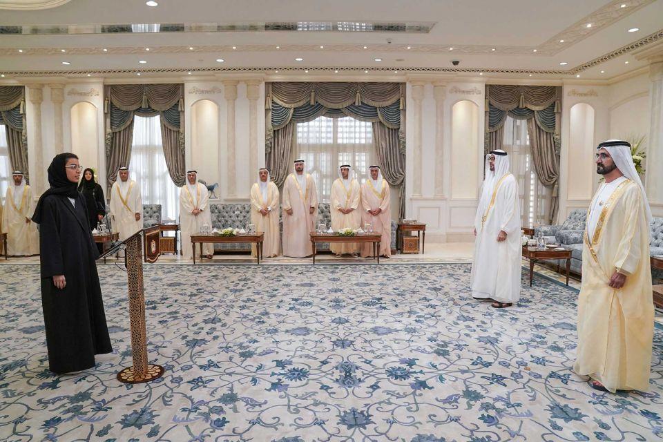 وزراء الحكومة الإماراتية الجدد يؤدون اليمين الدستوري