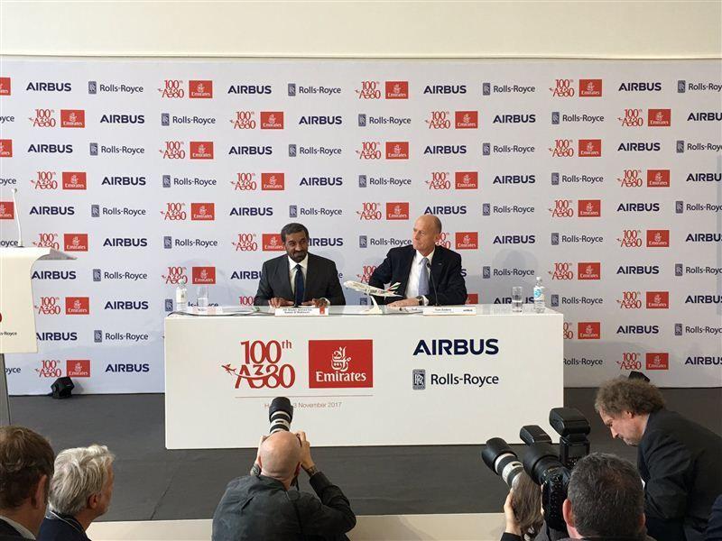 طيران الإمارات تسعى لشراء طائرات A380 في معرض دبي للطيران