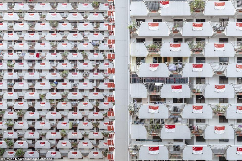 كشف قائمة  20 صورة تنافس على جائزة التصوير المعماري
