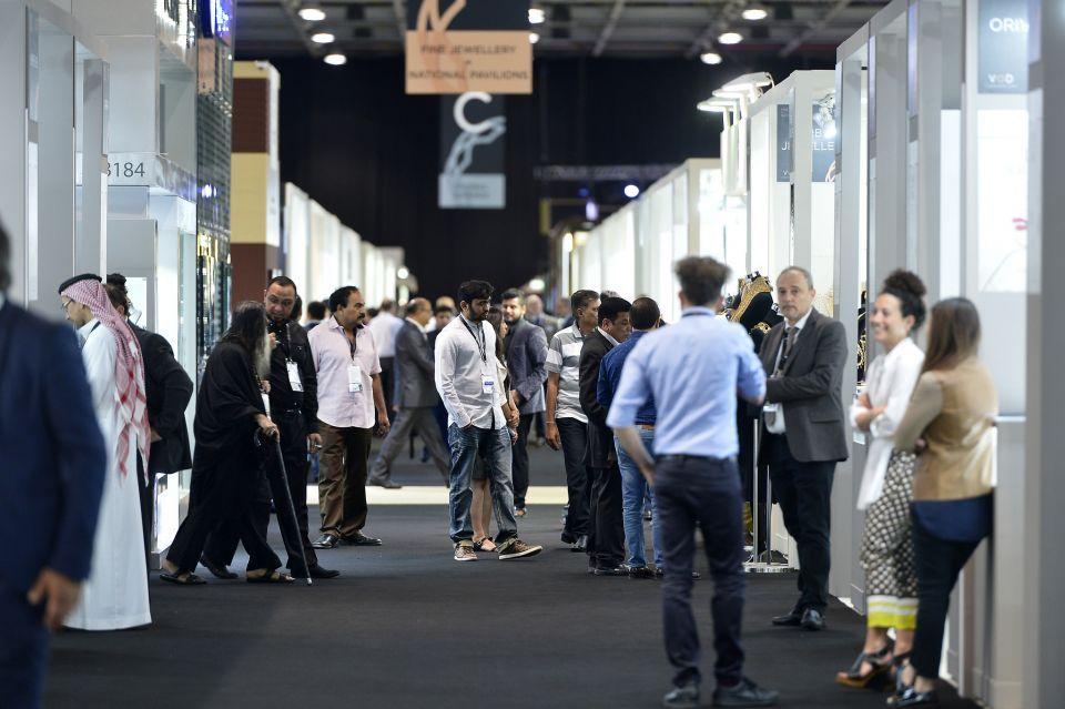 حلة جديدة لمعرض دبي الدولي للمجوهرات