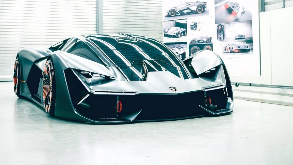 الكشف عن سيارة لمبرجيني تيرزو ميلينو