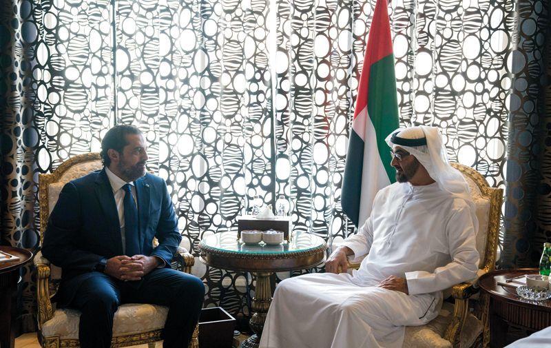 محمد بن زايد يؤكد وقوف الإمارات إلى جانب لبنان بشأن التحديات والتدخلات الإقليمية