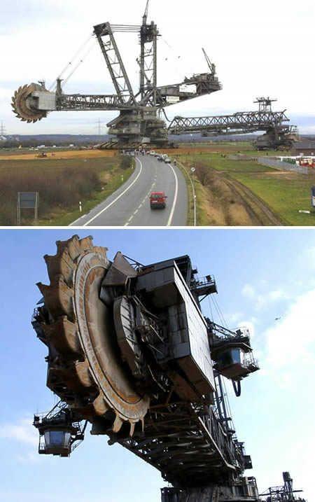 أضخم 7 آلات في العالم!