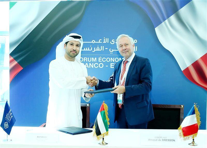 دبي المالي العالمي وباريس يوروبليس يوقعان اتفاقية جديدة للتعاون