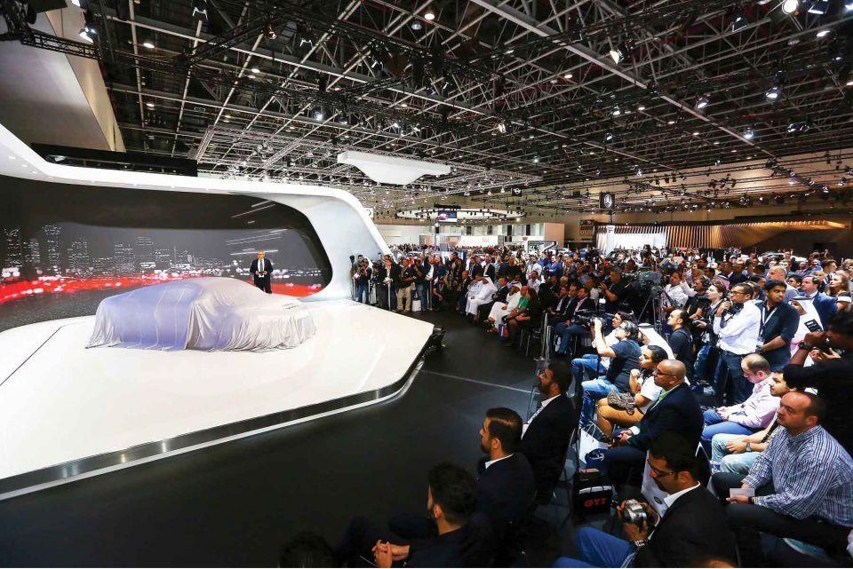 دبي الدولي للسيارات ينطلق في مركز دبي التجاري العالمي الثلاثاء المقبل