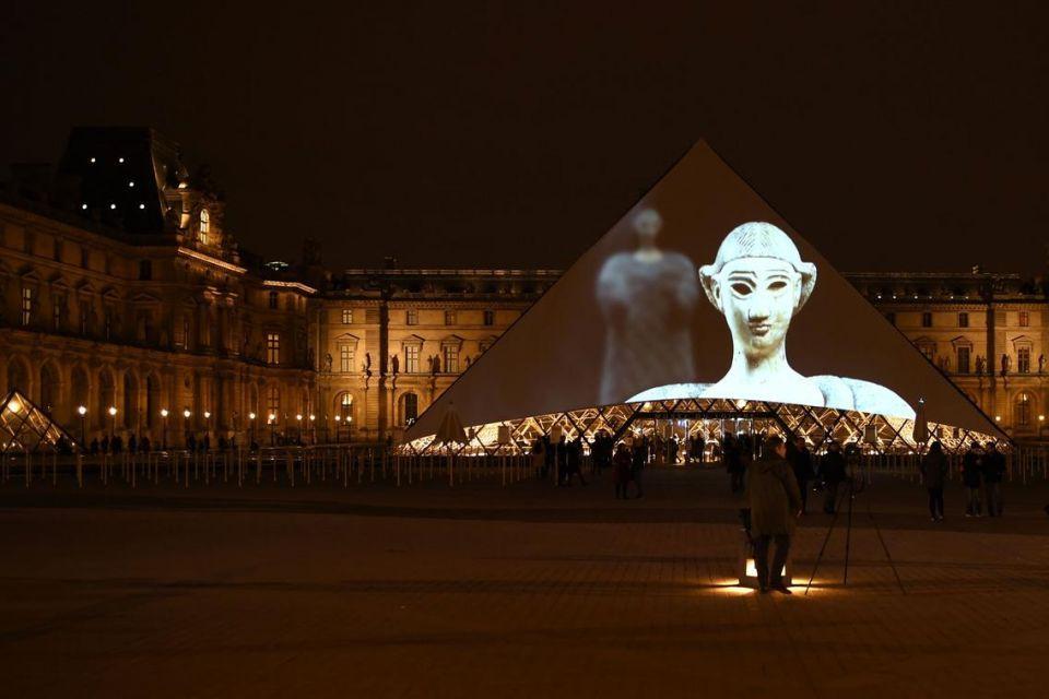 احتفالات بمناسبة افتتاح متحف اللوفر أبو ظبي