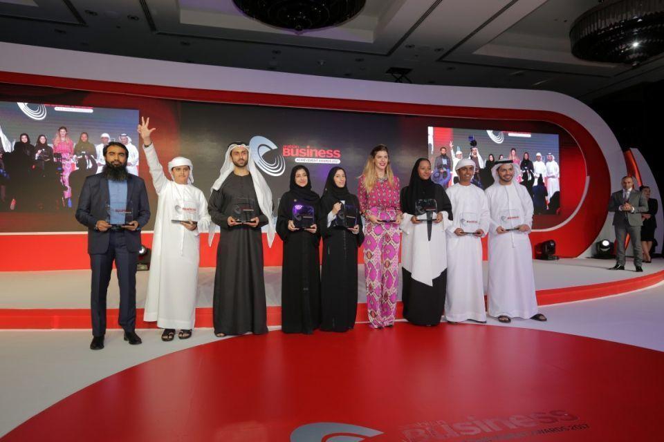 """""""نجوم المستقبل"""" يتصدرون جوائز أريبيان بزنس"""