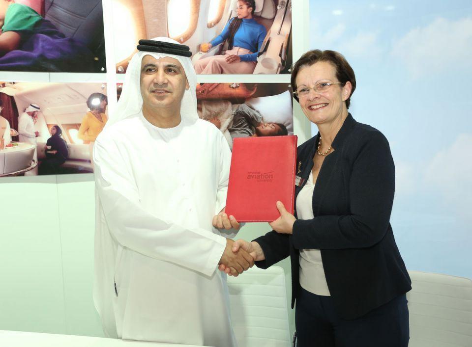 شراكة جديدة بين تاليس وجامعة الإمارات للطيران