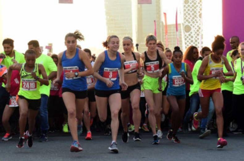 بالصور: الدورة السابعة لسباق دبي للجري للنساء