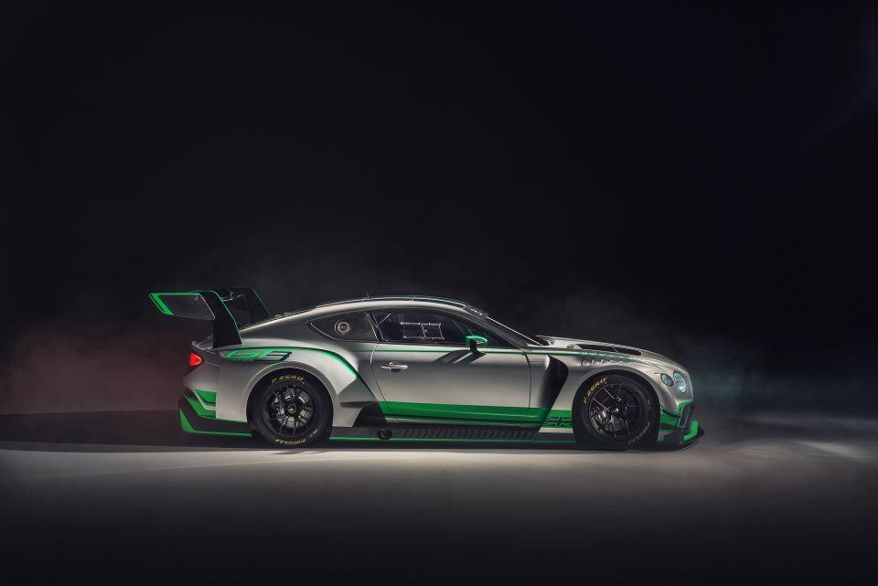 بنتلي  تكشف عن سيارة السباق Continental GT3 الجديدة