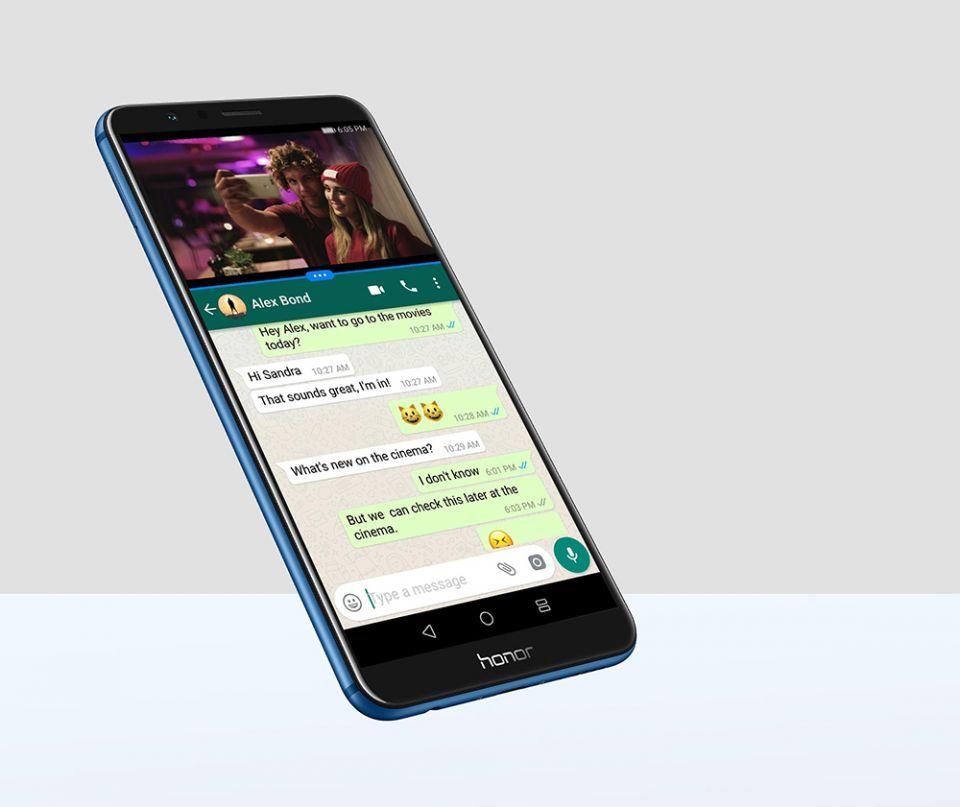 اكتشف هاتف honor 7x الجديد