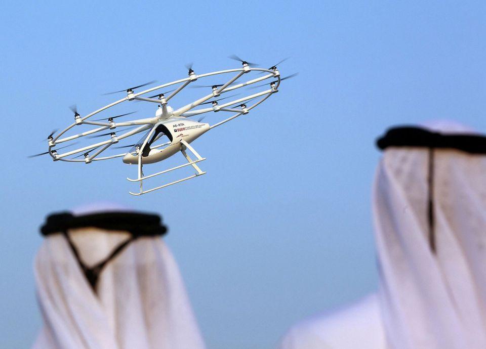 التاكسي الطائر في السعودية العام المقبل